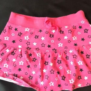 Other - Black white and pink skirt and skorts